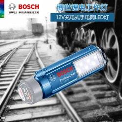 BOSCHG LI120-Li литиевая электрическая перезаряжаемая осветительная лампа рабочая лампа ручной светодиодный фонарик без батареи