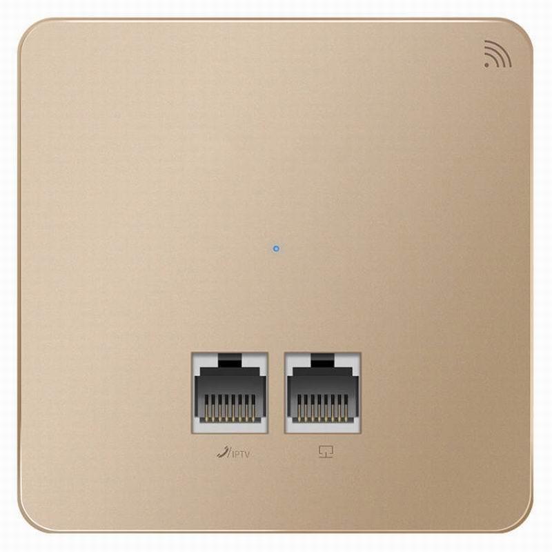 100% QualitäT 2,4 Ghz 300 Mbps In Wand Ap Für Wifi Projekt Indoor Ap 802.11ac Wifi Access Point Poe Netzteil 100 M Rj45 Port * 2 StäRkung Von Sehnen Und Knochen