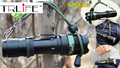 3000 Люмен Масштабируемые CREE XM-L Q5 СВЕТОДИОДНЫЙ Фонарик Факел Увеличить Свет Лампы Черный с ручной ремешок