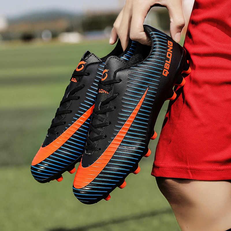 Sapatos de Futebol profissional VII VaporX Pro Marcados Mulheres V SuperflyX VI Elite Botas Homens Tênis de Treinamento De Futebol Adulto Crianças Grampo