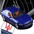 Maserati Ghibli 1:32 модель автомобиля оригинальные детские игрушки вытяните назад звук и свет Третьего Поколения Спортивный автомобиль Класса Люкс подарок бесплатная доставка