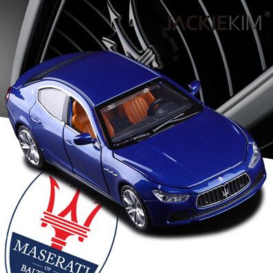 Maserati Ghibli 1:32 modelo de coche original niños de juguete tire hacia atrás de sonido luz de Tercera Generación de autos Deportivos de regalo de Lujo del envío libre