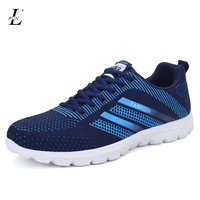 Fashion Design Knitted Women Men S Couples Sport Shoes Breathable Air Mesh Lovers Flats Running Sneakers