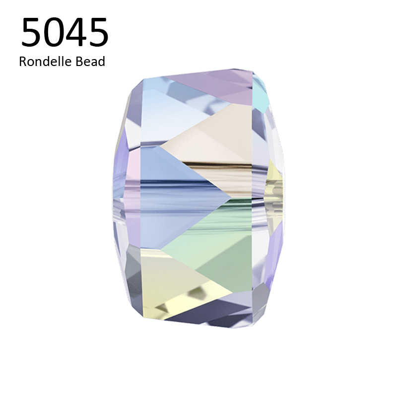 (1 piece) 6mm 8mm 5045 Rondelle Beads Crystal from Swarovski  made in Austria loose beads rhinestone for DIY jewelry making