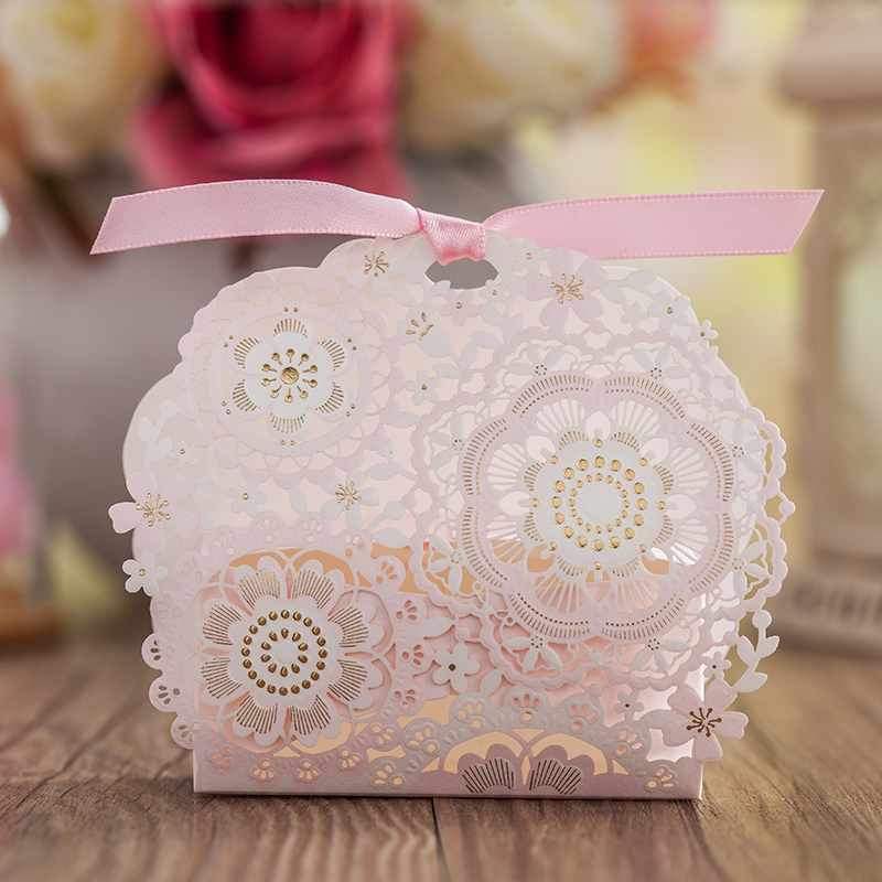 Wedding Favor and Gift Boxes Baby Wedding Candy Packing Box Wedding ...