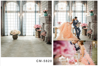 Customize Vinyl Cloth Print 3 D Bright Window Palace Wallpaper Photo Studio Backgrounds For Photography Backdrops