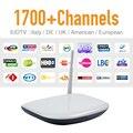 Europa IPTV Arabic Apk Programa Servidor Céu Canal Esporte 1700 Canais Caixa De Iptv Arábica livre Q1304 Inteligente Android IP Tv Box Quad núcleo