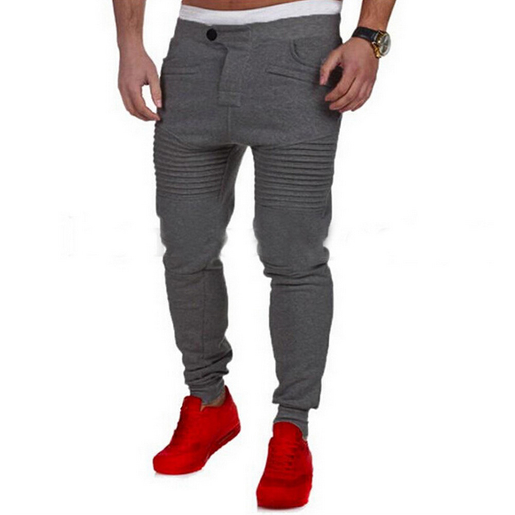 Fashion Moletom Men Casual Pants MenS Sweatpants Clothing Trousers Hip Hop Baggy Harem Pants Mens Joggers Pantalones Hombre W0