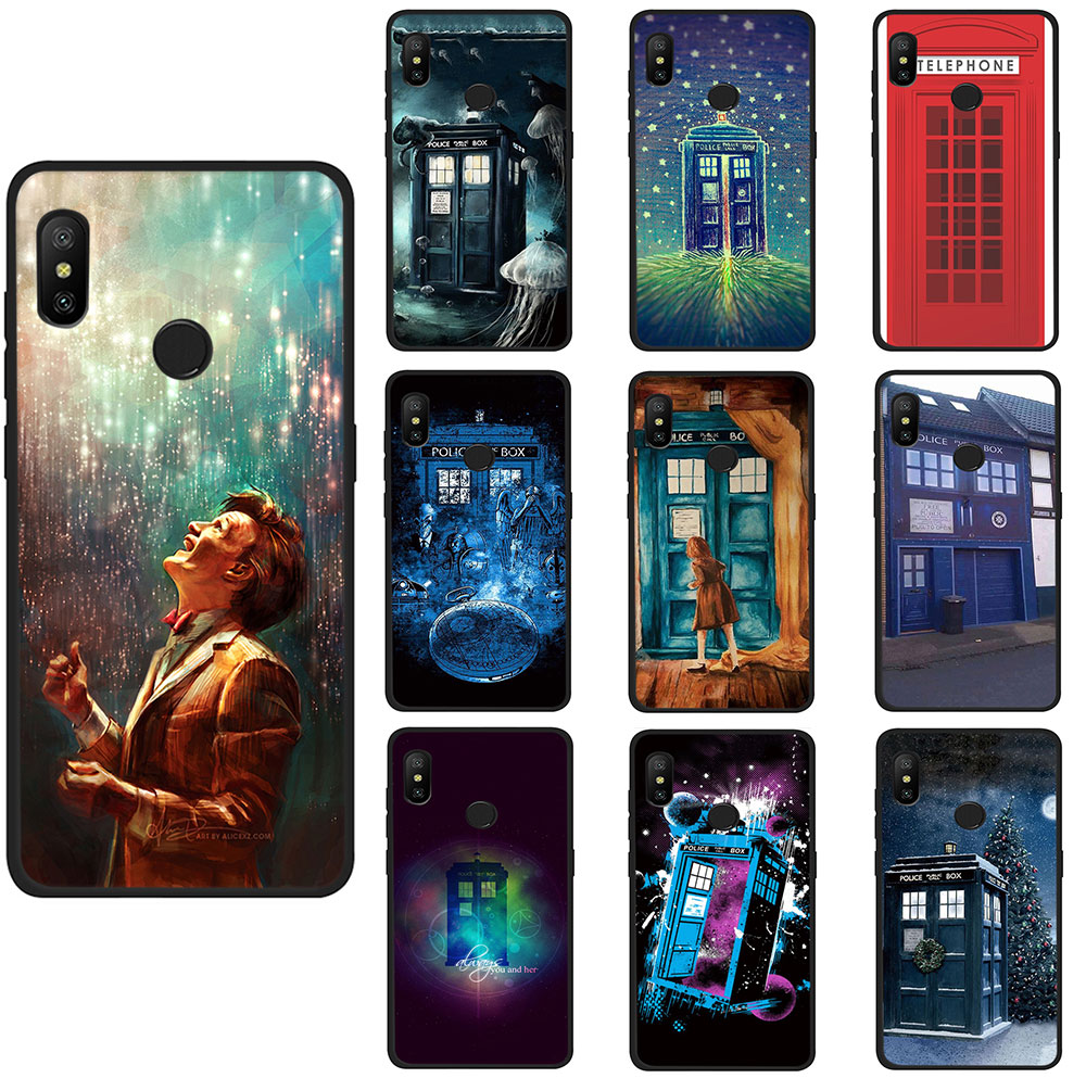 Doctor Who Tpu Phone Case For Xiaomi Mi 6 8 A2 Lite A1/5x A2/6x F1 Redmi Note 4 5 6a X Plus Pro Fashionable Patterns Phone Bags & Cases Half-wrapped Case