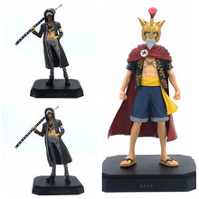 Anime 1/8th Scale One Piece Dressrosa Edition Lucy Monkey D Luffy Action Figure Trafalgar Law PVC figure Toys 20CM(China)