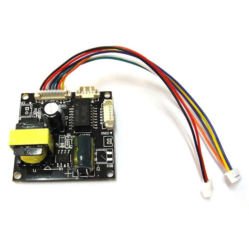 Input 48V 38*38mm cctv ip camera poe module PCB board output DC12V power for ip camera