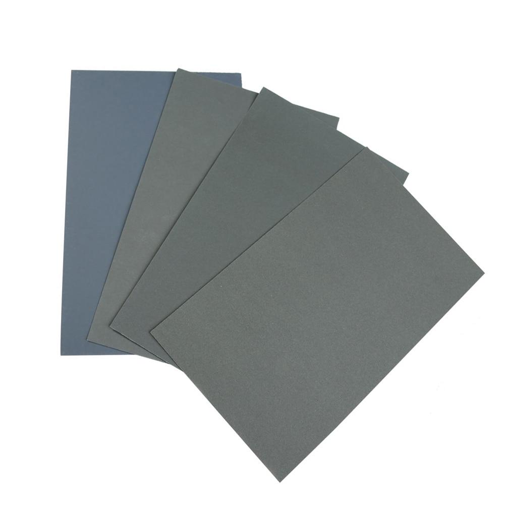 6 Pcs/Set Sand Paper Waterproof Abrasive Papers P600/1000/1200/1500/2000/2500 TSH Shop