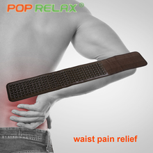 POP RELAX tourmaline germanium waist belt far infrared physical heating therapy back pain relief health care stone massage belt