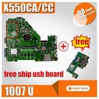 Asus 노트북 마더 보드 X550CA X550CC REV2.0 메인 1007 CPU 통합 완벽하게 테스트 좋은
