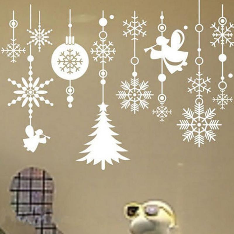 package x xmas decor with christmas ornaments windows