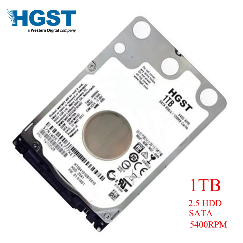HGST Brand Laptop PC 2 5 1000GB SATA 6GB s HTS541010B7E610 1TB Notebook hdd hard disk