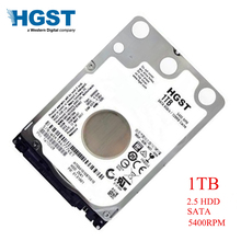 HGST Марка ноутбук PC 2,5 «1000 GB SATA 2 ГБ/сек. HTS541010B7E610 1 ТБ жёсткий диск для ноутбука жесткого диска 2 Мб/8 mb 5400 об/мин 7 мм