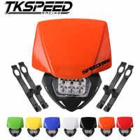 Phare universel de phare LED de moto pour KTM SX EXC XCF SMR 2014 15 16 lampe frontale de moto de saleté MX Enduro Supermoto