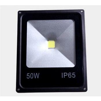 Ультратонкий Светодиодный прожектор без водителя, 20 Вт, 30 Вт, 50 Вт, черный, 220 В, водонепроницаемый, IP65, прожектор для наружного освещения, бес