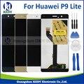 1 unids para huawei ascend p9 lite digitalizador asamblea pantalla lcd con la pantalla táctil de reparación del teléfono + herramientas