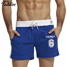 Taddlee Brand Men Shorts Loose Short Trousers Casual Calf-Length Jogger Mens Shorts Sweatpants Fitness Man Workout Cotton Shorts