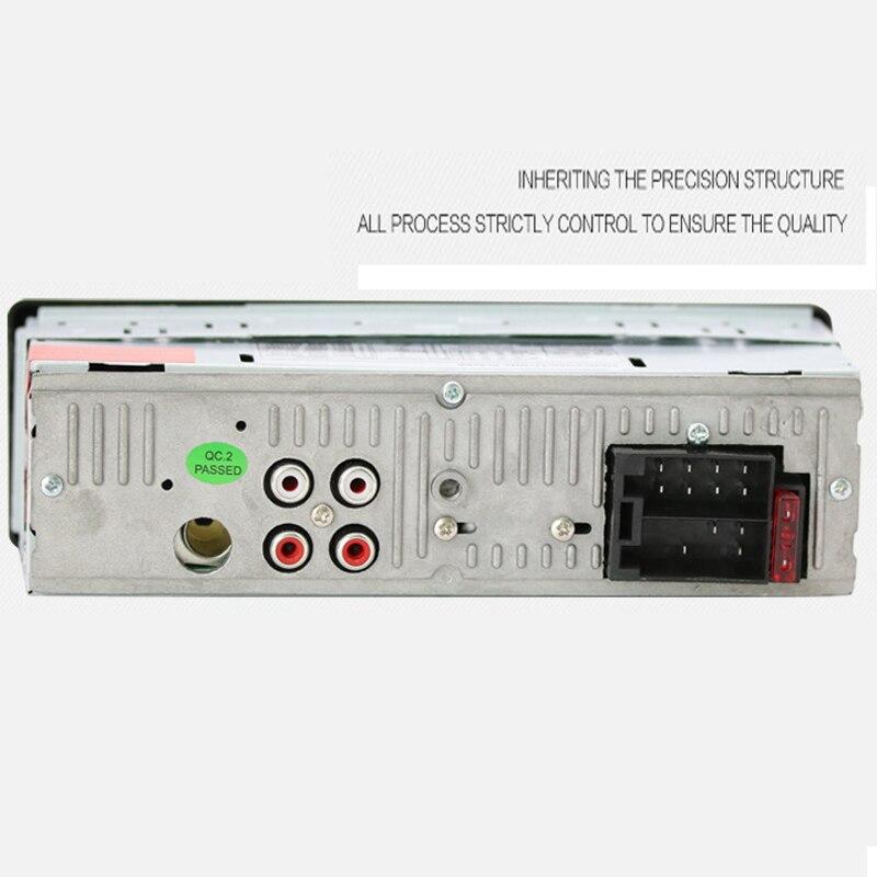 Авто радио автомобильное радио 12 в Bluetooth V2.0 SD USB MP3 WMA автомобильный аудио стерео в-тире 1 Din FM Aux вход приемник