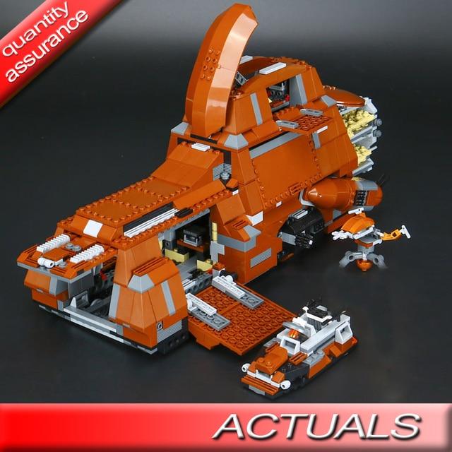 US $75 0 |Lepin 05069 Star Battles Building Blocks The Federation  Transportation Tank MTT Model Bricks Toys Gift Compatible with Lego 7662-in  Blocks