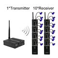 TP-WIRELESS Ear Monitor System Wireless In-Ear Monitor System In Ear Professional Stage Wireless Monitor System 10 Receivers