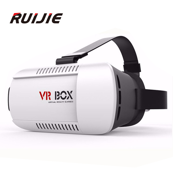 <font><b>VR</b></font> BOX Version 3D Virtual Reality <font><b>VR</b></font> <font><b>Glasses</b></font> <font><b>Headset</b></font> <font><b>Smart</b></font> <font><b>Phone</b></font> 3D <font><b>Private</b></font> Theater for 4.7 - 6.0 inches Smartphone