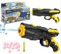 Pistola de Paintball pistola y Bullet plástico arma suave pistola juguetes CS juego de agua Shooting Crystal pistola armas de brinquedo