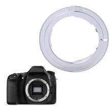 AI-EOS Adapter for Nikon AI AI-S F Lens to Canon EF EOS Camera AF Confirm Ring