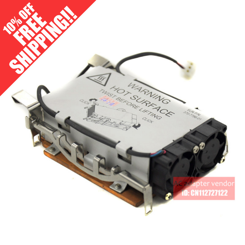 FOR Sun V210, V240 V125 Server CPU heatsink cooling fan 370-7786-01 2200rpm cpu quiet fan cooler cooling heatsink for intel lga775 1155 amd am2 3 l059 new hot
