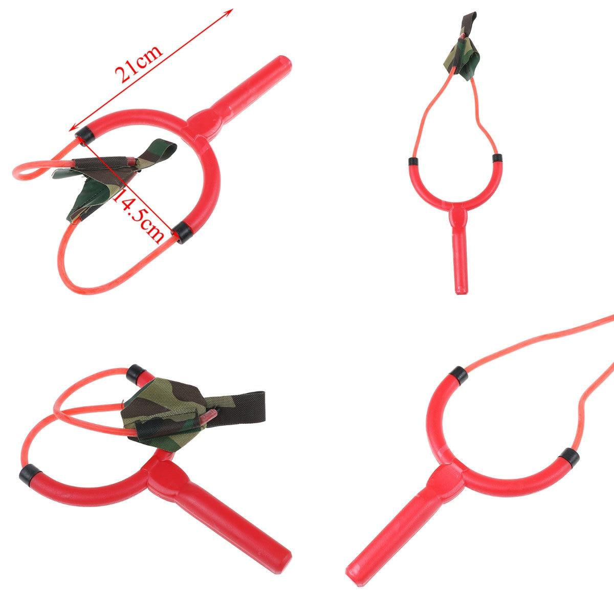 New Portable Fishing Bait Thrower Slingshot Rubber Band Plastic Fishing Catapult Fishing Tool 12.5cm X 11.2cm