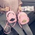 Mini Backpack School Bag 2016 New Mini Small Backpack For Women Teenage Girl Rucksack Rivet Korean Mochila Escolar