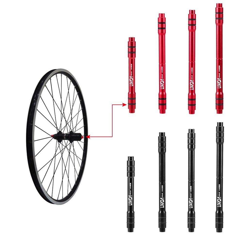 Lixada 12mm a Adaptador 9 milímetros QR MTB Bicicleta Thru Eixo Hub Liberação Rápida 100/135/142 /148mm Adaptador do Cubo Da Roda Dianteira Da Bicicleta