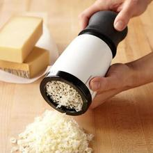 Manual Cheese Grater Grinder Slicer Coarse Hand Twist Kitchenware Tool with box ralador queijo microplane chopper