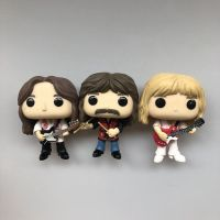 3pcs/set Original Funko pop Rocks: Rush Geddy, Alex, & Neil 3 pack Vinyl Action Figure Collectible Model Loose Toy No Box