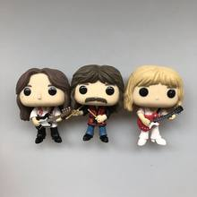 3 Pcs/set Asli Funko Pop Rocks: Rush - Geddy, Alex & Neil 3 Pack Vinyl Action Figure Collectible Model Longgar Mainan Tidak Ada Kotak(China)