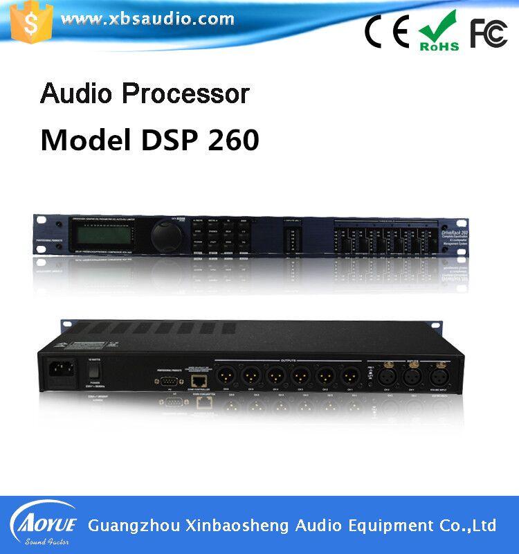 Подробнее о ktv processor DSP260   Audio digital karaoke processor 2 in 6 out ktv