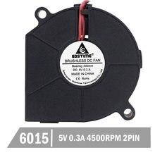 20 шт gdstime 5 в 60 мм 6015 вентилятор охлаждения dc 03a бесщеточный