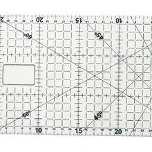 Пластиковая прямая Линейка для нанесения весов, измерительная линейка для сортировки одежды, инженерная линейка для рисования, 20 см, ftee DM014