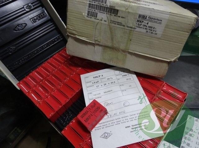 2020 뜨거운 판매 5PCS/10pcs WIMA MKP4 시리즈 1.0 미크로포맷/1000V 1 미크로포맷 1u0 105 새로운 필름 커패시터 37.5MM 무료 배송