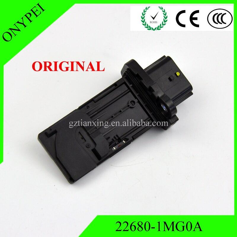 22680-1MG0A AFH60M-39 Original Mass Air Flow Meter Sensor For Nissan Altima Pathfinder Sentra Infiniti 226801MG0A AFH60M39 цена