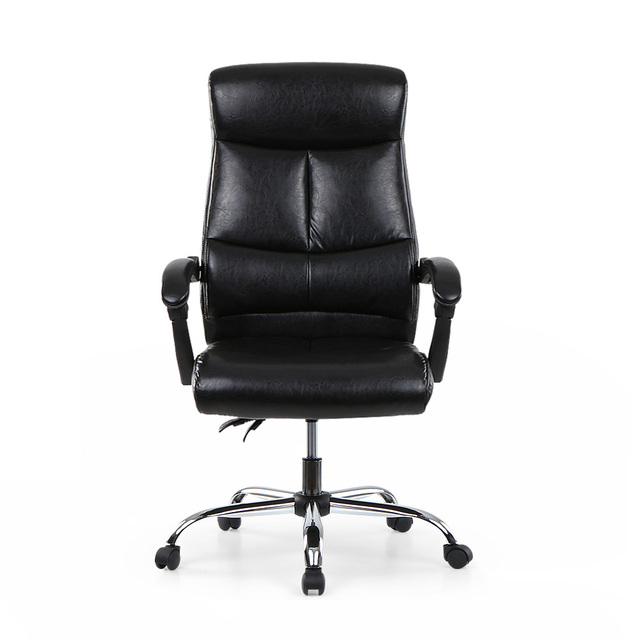 adjustable ergonomic pu leather executive office chair recliner