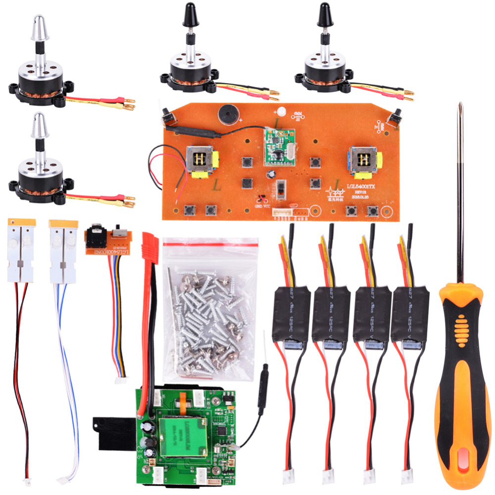 LeadingStar DIY Brushless Upgrade Kit Spare Part for X8 Series X8/X8W/X8G/X8C/X8HW/X8HC/HUANQI 899 Helicute Quadcopter 4set lot universal rc quadcopter part kit 1045 propeller 1pair hp 30a brushless esc a2212 1000kv outrunner brushless motor