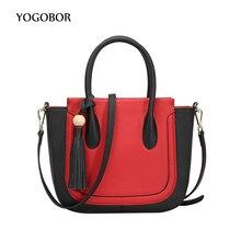 YOGOBOR Brand Women Messenger Bag High Quanlity Fashion Crossbody Bag With Tassel Designer Handbag Smiley Women's Shoulder Bags