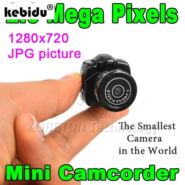 kebidu Digital Mini Camcorder Micro HD CMOS 2.0 Mega Pixel Pocket Video Audio Camera 480P DV DVR Recorder Web Cam 720P JPG