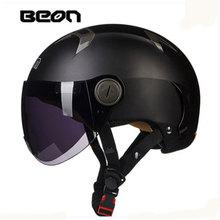 BEON New style Vintage helmet motorcycle motorbike motorcross helmet Capacete Casco half face helmet Protective Gear B102