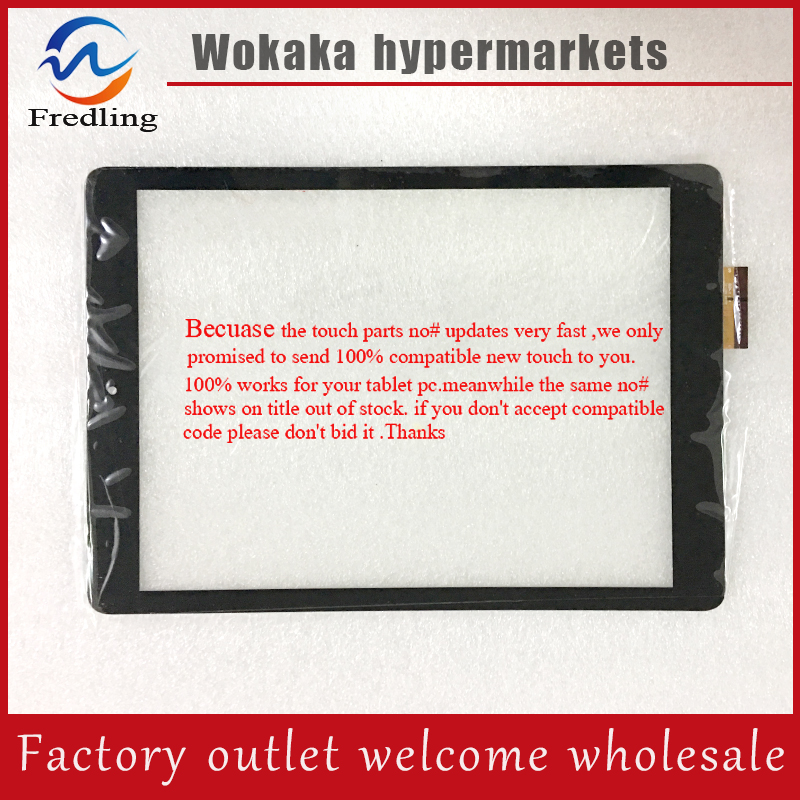 New touch screen Digitizer For 9.7 inch Tablet RS9F559_V1.0 Touch panel Glass Sensor RS9F559 V1.0 Replacement FreeShipping for sq pg1033 fpc a1 dj 10 1 inch new touch screen panel digitizer sensor repair replacement parts free shipping