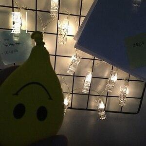 Image 3 - Luzes customizadas para decoração de casamento, suporte estrelado para fotos, corda, decoração de livro, janela, natal, peças de mesas, bateria
